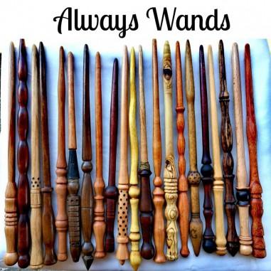 Bacchette artigianali in vero legno