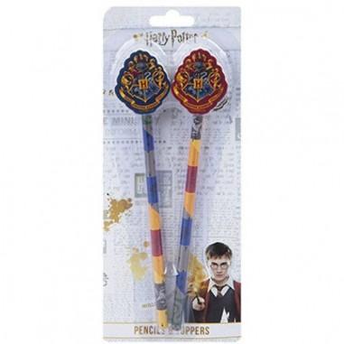Harry Potter set di 2 matite con topper