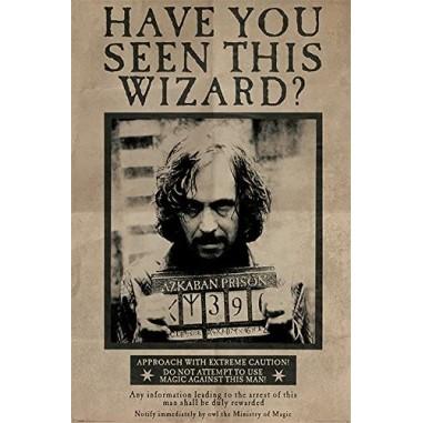 Poster Wanted Sirius Black