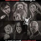 ✨Sembrano delle foto e invece sono tutti dei disegni. Possiamo parlare della perfezione della barba di Hagrid? Che meraviglia, ragazzi. 😍 ⚡  #alwayswands #harrypotter #harrypottermania #harrypottermeme #hogwarts #wand #handmade #magic #grifondoro #serpeverde #corvonero #tassorosso @eateseseirimastoconharry