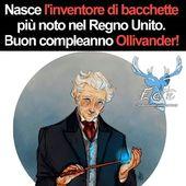 Auguri MAESTRO 😍⚡ E in Italia 🇮🇹 chi è il vostro Wandmaker preferito? ➡️ @Alwayswands  #alwayswands #ollivanders #wandmaker #wandmaking #grifondoro #serpeverde #corvonero #tassorosso @eateseseirimastoconharry