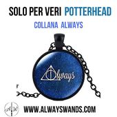 ⚡ Collana Always solo per veri potterhead ⚡😍 ➡️ Comprala subito su: https://alwayswands.com/it/oggetti-magici/59-collana-always.html  #harrypotter #bacchettemagiche #wand #handmade #madeinitaly #grifondoro #serpeverde #corvonero #tassorosso