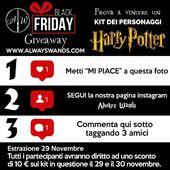 ⚠️ 📢 GIVEAWAY: 🏁 Nuovi Kit dei personaggi di Harry Potter ⚡ 😍 Partecipate al contest su Instagram per vincere il vostro preferito 🔝 💸Per tutti i partecipanti uno sconto a tempo di 10€ su tutti i kit! 📈  #giveaway #harrypotter #hogwarts #alwayswands #bacchette #gadget #grifondoro #serpeverde #corvonero #tassorosso #piton